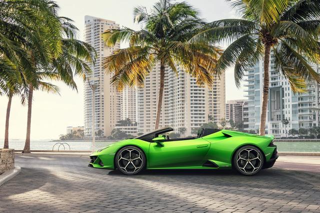 Lamborghini Huracan Evo mui trần hứa hẹn khuấy đảo triển lãm Geneva - Ảnh 2.