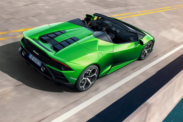 Lamborghini Huracan Evo mui trần hứa hẹn khuấy đảo triển lãm Geneva - Ảnh 7.