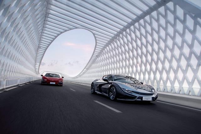 Qiantu K50 - Siêu xe Trung Quốc giá rẻ lai giữa BMW i8 và Audi R8 chốt ngày ra mắt - Ảnh 1.