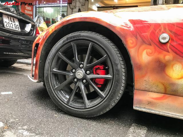 Mazda MX-5 của dân chơi Hà Nội trang trí táo bạo bằng phượng lửa - Ảnh 6.