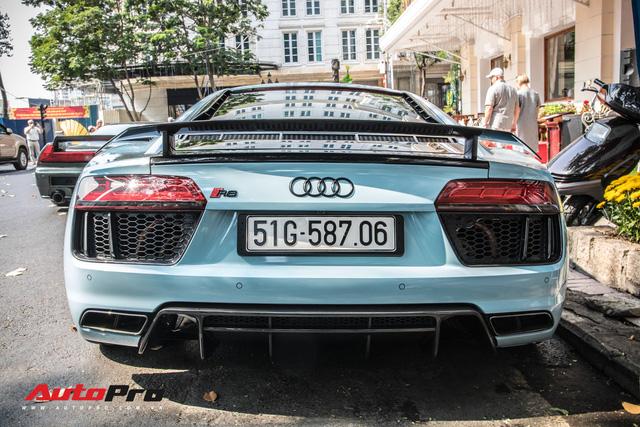Sau tin đồn bán xe, Cường Đô La và Đàm Thu Trang xuất hiện cùng chiếc Audi R8 V10 Plus - Ảnh 6.