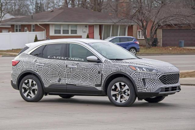 Biết gì về Ford Escape 2020 ra mắt giữa năm nay cạnh tranh Honda CR-V, Mazda CX-5? - Ảnh 2.