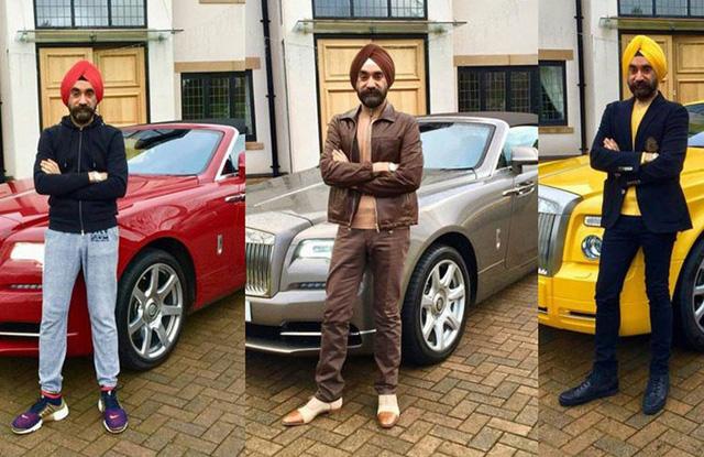 Tỷ phú nổi tiếng chơi Rolls-Royce theo màu khăn quấn đầu tậu 6 chiếc Phantom và Cullinan mới - Ảnh 4.