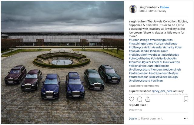Tỷ phú nổi tiếng chơi Rolls-Royce theo màu khăn quấn đầu tậu 6 chiếc Phantom và Cullinan mới - Ảnh 3.