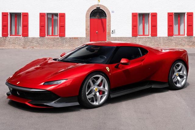 Những mẫu xe Ferrari cả đời ta cũng không thể gặp được một lần - Ảnh 21.