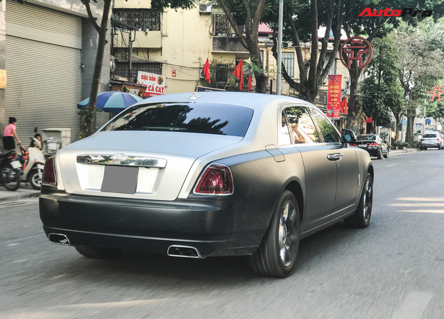 Rolls-Royce Ghost EWB cực hiếm tại Việt Nam dán decal phong cách cafe Trung Nguyên - Ảnh 7.