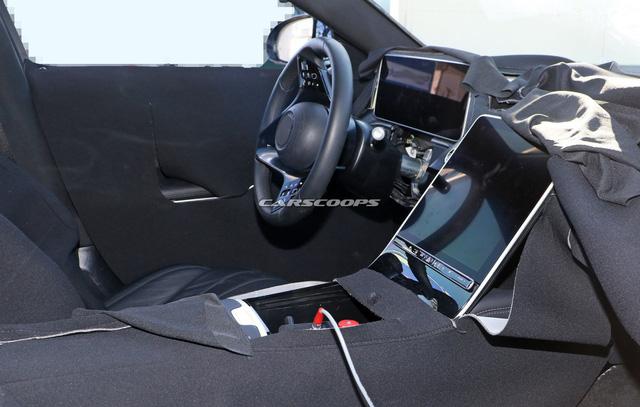 Mercedes-Benz S-Class thế hệ mới lộ thêm ảnh nội thất: Màn hình và đồng hồ to hơn cả iPad Pro 12.9 - Ảnh 2.