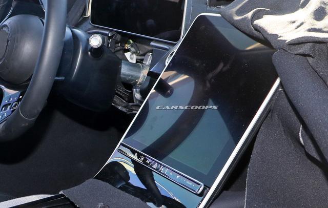 Mercedes-Benz S-Class thế hệ mới lộ thêm ảnh nội thất: Màn hình và đồng hồ to hơn cả iPad Pro 12.9 - Ảnh 4.