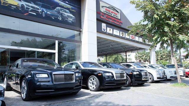 Một vòng tham quan những showroom siêu xe, xe siêu sang đại gia Campuchia thường lui tới - Ảnh 7.