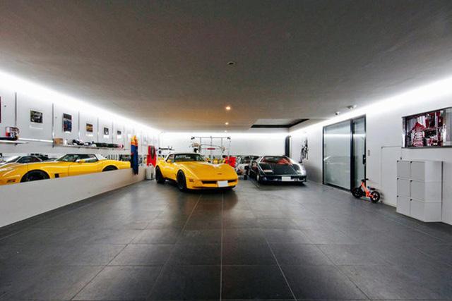 Những căn phòng để xe siêu đắt đỏ của giới nhà giàu - Ảnh 1.