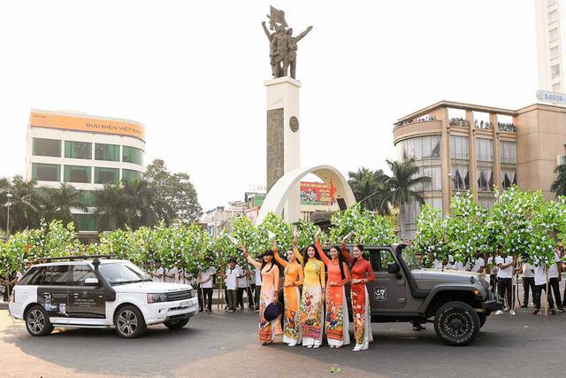 Dàn xe khủng của ông chủ cafe Trung Nguyên chở theo Hoa hậu và Á hậu, sẵn sàng hành trình xuyên Việt 2019 - Ảnh 9.