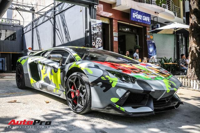 Lamborghini Aventador với lai lịch thú vị tại Việt Nam được đổi mới theo phong cách viễn tưởng - Ảnh 4.