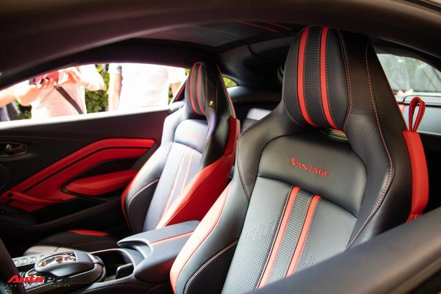 Chi tiết Aston Martin Vantage vừa ra mắt: Mẫu xe 15 tỷ đồng có gì thuyết phục đại gia Việt? - Ảnh 8.