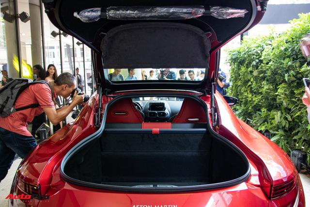 Chi tiết Aston Martin Vantage vừa ra mắt: Mẫu xe 15 tỷ đồng có gì thuyết phục đại gia Việt? - Ảnh 14.