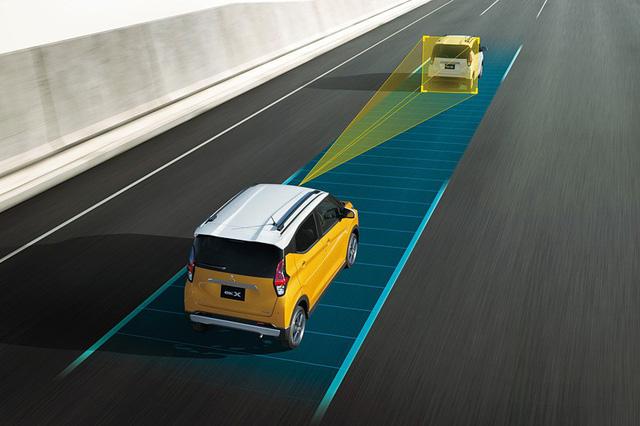 Mitsubishi trình làng mini Xpander có tên eK X - Ảnh 6.