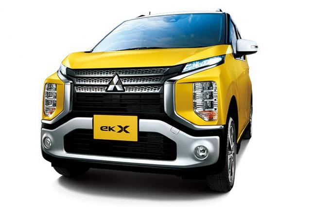 Mitsubishi trình làng mini Xpander có tên eK X - Ảnh 2.