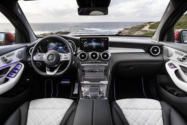 Ra mắt Mercedes-Benz GLC Coupe 2020 - Đối trọng của BMW X4 sắp bán tại Việt Nam - Ảnh 8.