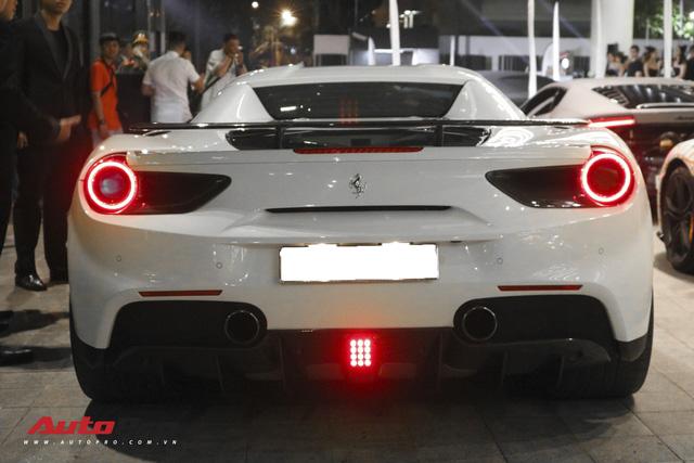 Ferrari 488 Spider cua dai gia Binh Phuoc len goi do carbon hang tram trieu tu Novitec