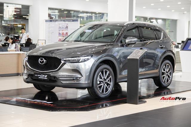 Mazda CX-5 tiếp tục giảm giá sốc tại đại lý trong tháng 5, khởi điểm từ khoảng 830 triệu đồng - Ảnh 1.