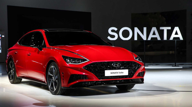 Hyundai Sonata 2020 chính thức ra mắt: Tăng áp tham vọng đè Toyota Camry, Honda Accord