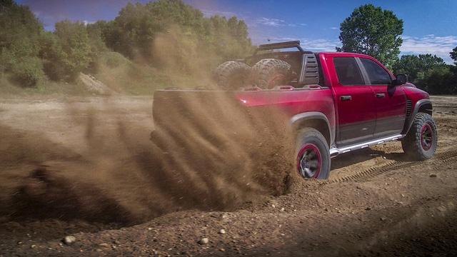 Ram Rebel TRX - Bán tải làm Ford Ranger Raptor phải run sợ rò rỉ những thông tin đầu tiên - Ảnh 4.