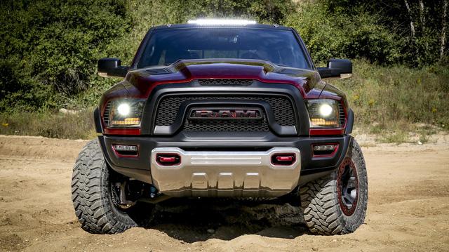 Ram Rebel TRX - Bán tải làm Ford Ranger Raptor phải run sợ rò rỉ những thông tin đầu tiên