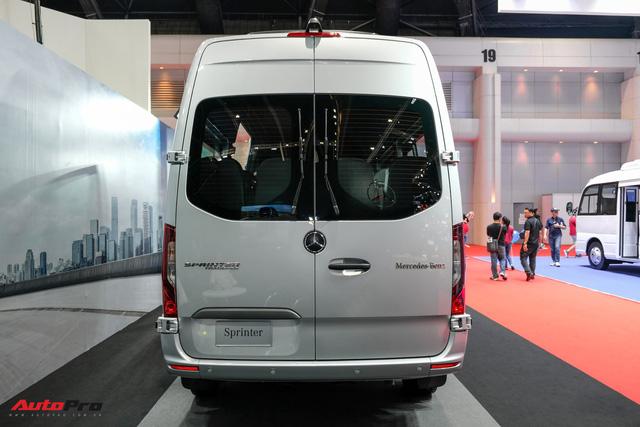 Đánh giá nhanh Mercedes-Benz Sprinter 2019: Sang xịn như E-Class, treo khí nén, giải trí MBUX, giá hơn 2,7 tỷ đồng - Ảnh 5.