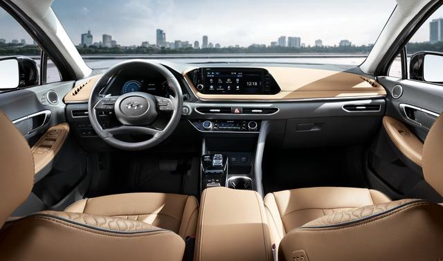 Hyundai Sonata thế hệ mới chính thức lộ diện, thách thức Toyota Camry - Ảnh 5.