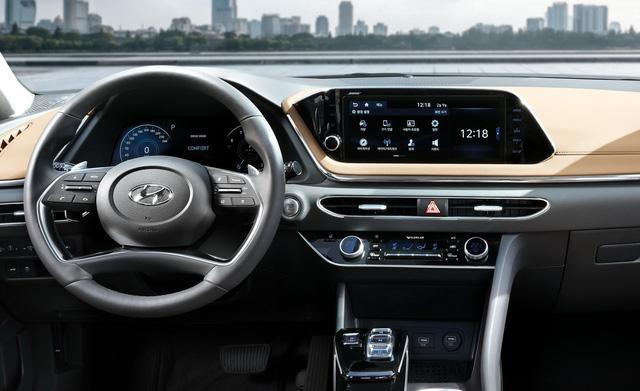 Hyundai Sonata thế hệ mới chính thức lộ diện, thách thức Toyota Camry - Ảnh 6.
