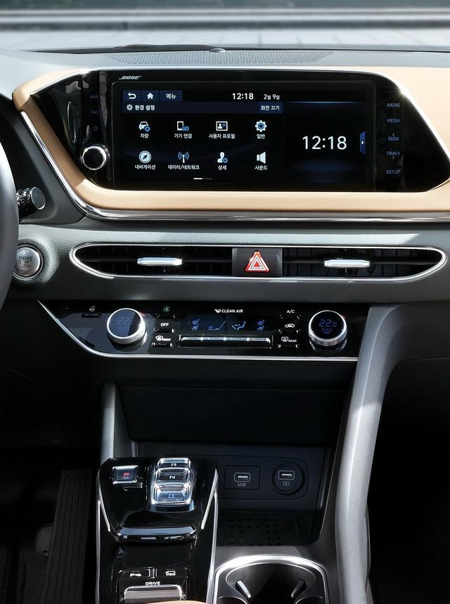 Hyundai Sonata thế hệ mới chính thức lộ diện, thách thức Toyota Camry - Ảnh 7.