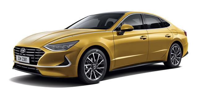 Hyundai Sonata thế hệ mới chính thức lộ diện, thách thức Toyota Camry - Ảnh 1.