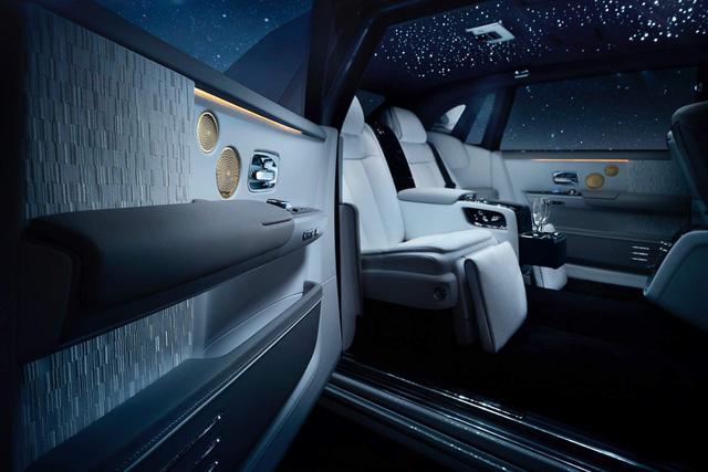 Rolls-Royce Phantom Tranquillity: Đỉnh cao bầu trời sao cho đại gia thích tĩnh lặng - Ảnh 11.