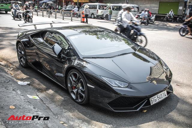 Đại gia Bitcoin chia tay Lamborghini Huracan màu đen độc nhất Việt Nam - Ảnh 3.