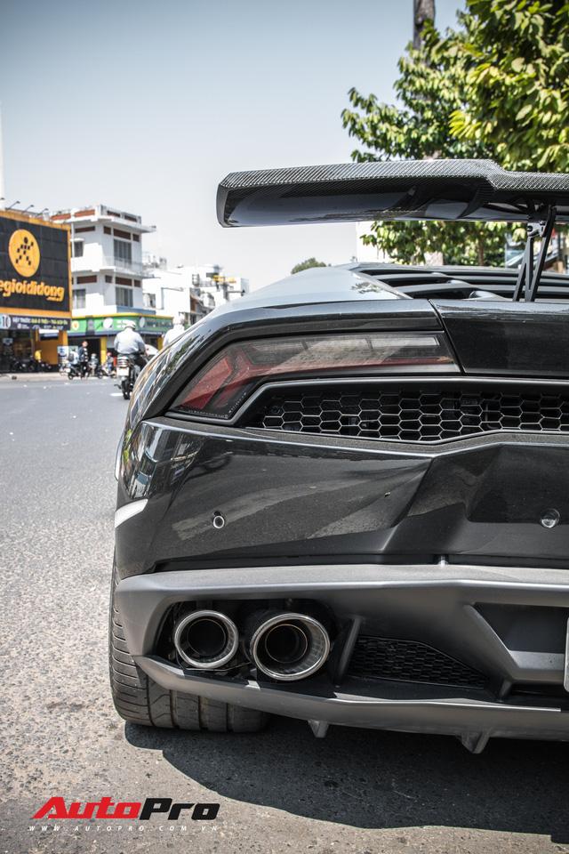 Đại gia Bitcoin chia tay Lamborghini Huracan màu đen độc nhất Việt Nam - Ảnh 13.