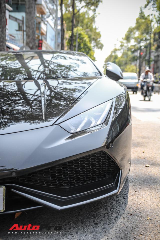 Đại gia Bitcoin chia tay Lamborghini Huracan màu đen độc nhất Việt Nam - Ảnh 17.