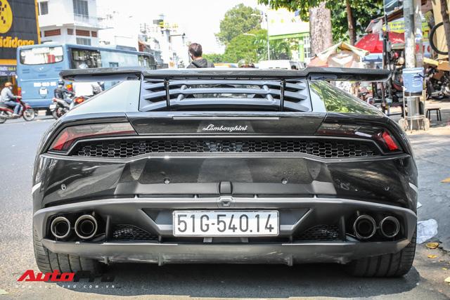 Đại gia Bitcoin chia tay Lamborghini Huracan màu đen độc nhất Việt Nam - Ảnh 12.