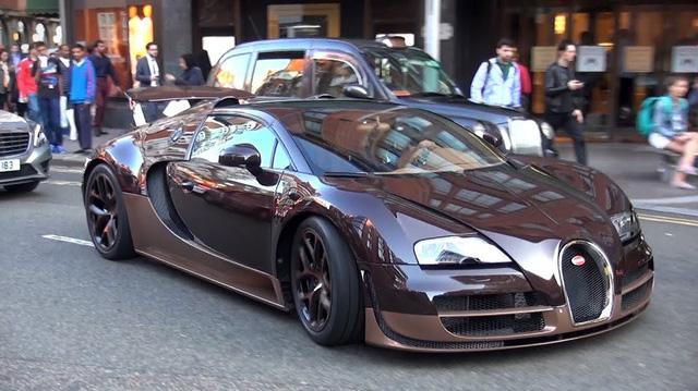 Đại gia bất động sản khoe Bugatti Veyron hàng siêu độc hút hồn fan siêu xe