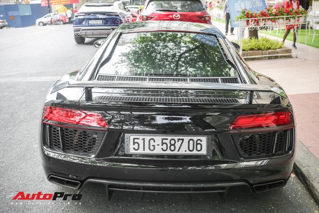 Cường Đô La đổi màu Audi R8 V10 Plus, tuy nhiên đây mới là điểm đáng chú ý - Ảnh 5.