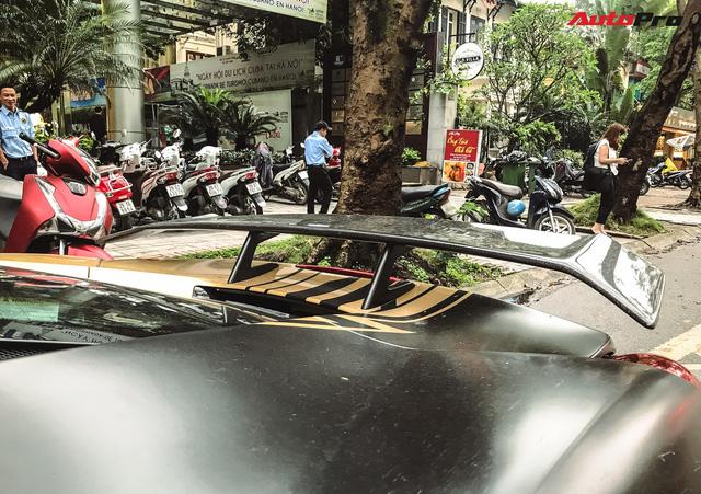 Ferrari 488 GTB độ Liberty Walk độc nhất Việt Nam thoát xác với phong cách mới - Ảnh 11.