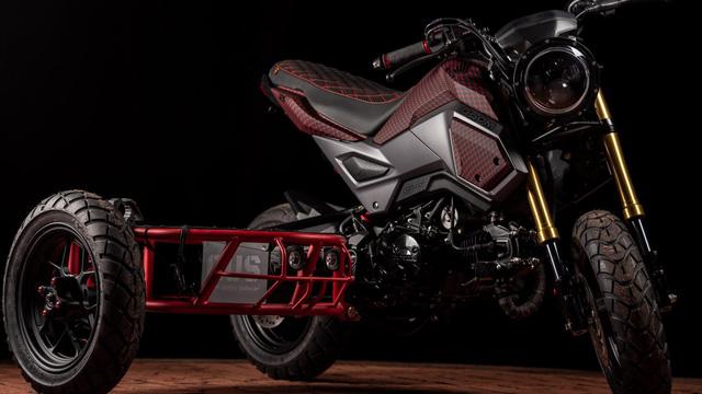 Honda MSX độ thành sidecar 3 bánh cực độc cho dân chơi xe côn tay - Ảnh 1.