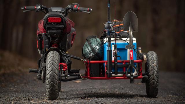 Honda MSX độ thành sidecar 3 bánh cực độc cho dân chơi xe côn tay - Ảnh 6.