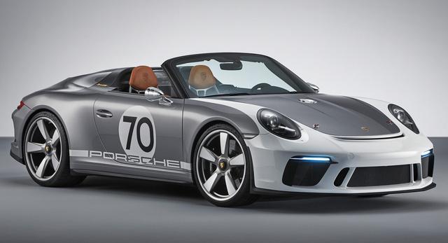 Porsche chuẩn bị phiên bản đặc biệt cuối cùng chia tay 911 đời cũ, có thể là bản mui trần Speedster - Ảnh 1.