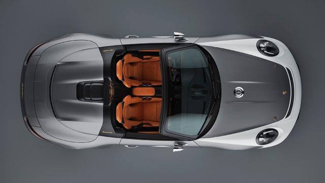 Porsche chuẩn bị phiên bản đặc biệt cuối cùng chia tay 911 đời cũ, có thể là bản mui trần Speedster - Ảnh 4.