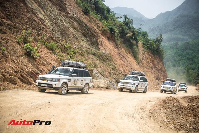 Hành trình lên Sơn La gian nan của đoàn xe Trung Nguyên Legend - Ảnh 1.