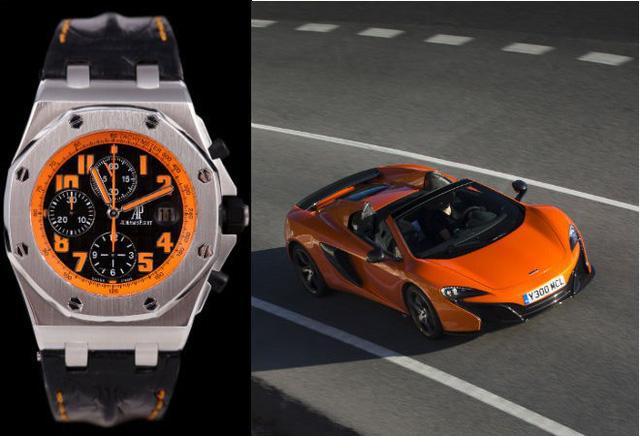Choáng trước sự kết hợp triệu đô giữa đồng hồ và siêu xe - Ảnh 3.
