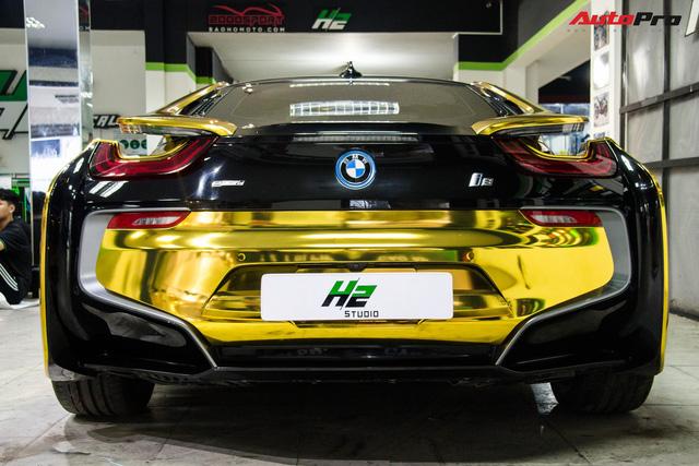 Dân chơi Sài Gòn mang BMW i8 đi đổi diện mạo phong cách nhà giàu Dubai - Ảnh 5.