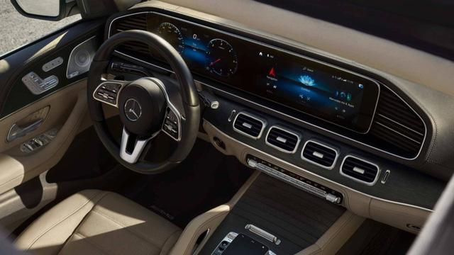 Lộ diện Mercedes-Benz GLS 2020 - Đối trọng khó nhằn của BMW X7 - Ảnh 8.