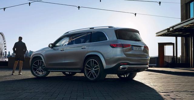 Lộ diện Mercedes-Benz GLS 2020 - Đối trọng khó nhằn của BMW X7 - Ảnh 6.