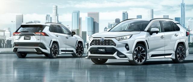 Toyota đồng loạt tung cấu hình TRD thể thao, Modellista hoang dã cho RAV4 - Ảnh 3.