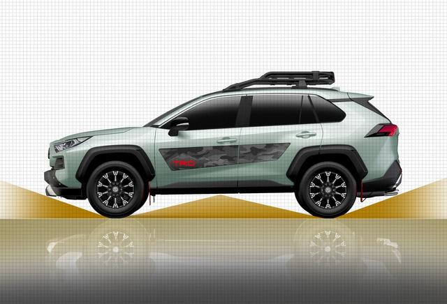 Toyota đồng loạt tung cấu hình TRD thể thao, Modellista hoang dã cho RAV4 - Ảnh 4.